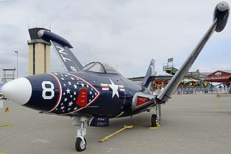 Grumman F9F-5P Panther BuNo 126277, May 14, 2011